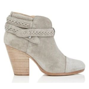 New Rag and Bone Harrow Suede Ankle Boots